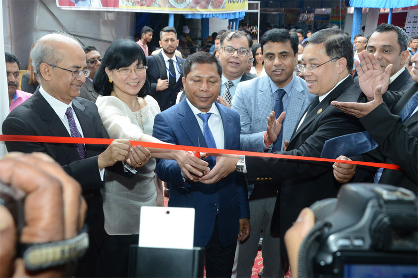 CM inaugurates 4th Act East Business Show in Shillong on 1st June 2017