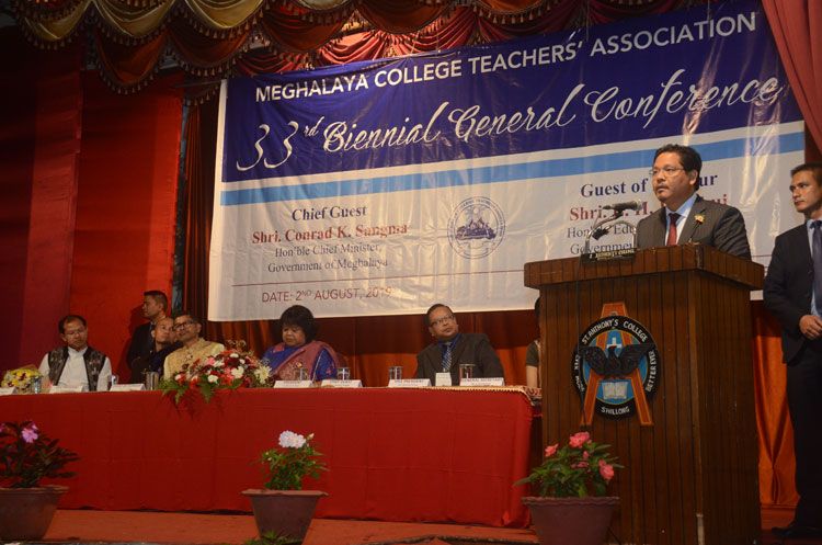 Chief Minister attends 33rd Biennial General Conference of MCTA 02-08-2019