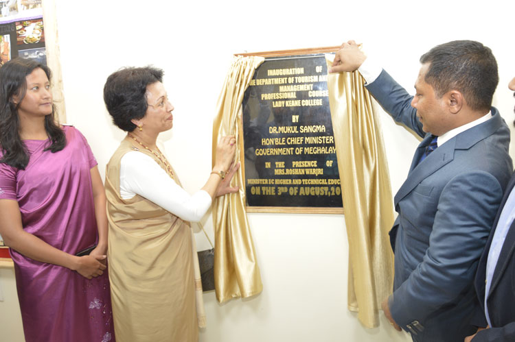 Chief Minister Inaugurates Department of Tourism and Travel Management 03-08-2017