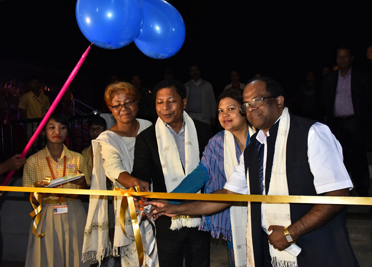 CM inaugurates the School Building of Casarina Public School at Tura 03-12-2017
