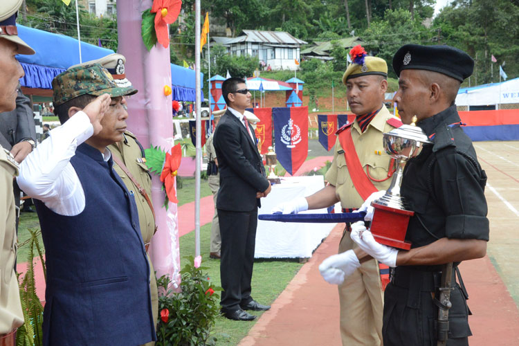 Chief Minister attends Passing out Parade of Second Batch of SF 10 04-08-2017