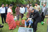 Meghalaya Governor, Mr. R S Mooshahary planting the sapling on the occasion of the World Environment Day at Raj Bhavan