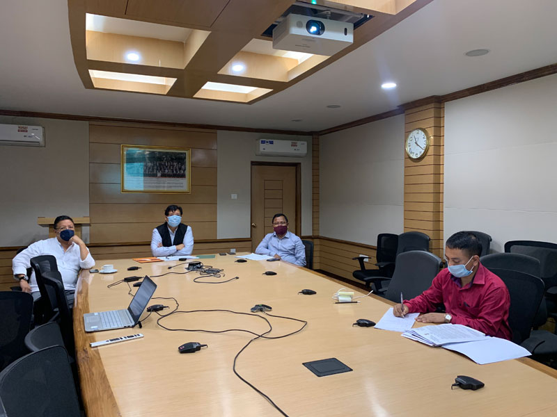Chief Minister reviews implementation of PMGSY works 05-08-2020