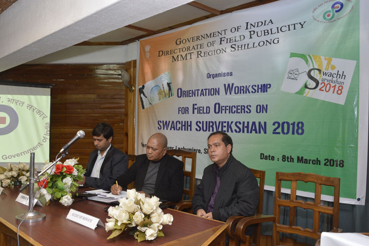 Regional Orientation Workshop on Swachh Survekshan 2018 held 08-03-2018