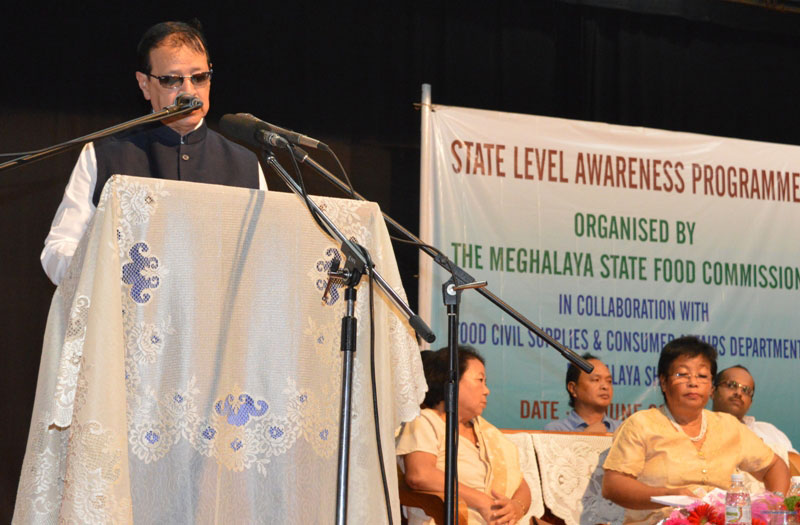 One Day State Level Awareness on Food Security Act 2013 held on 8th June 2017
