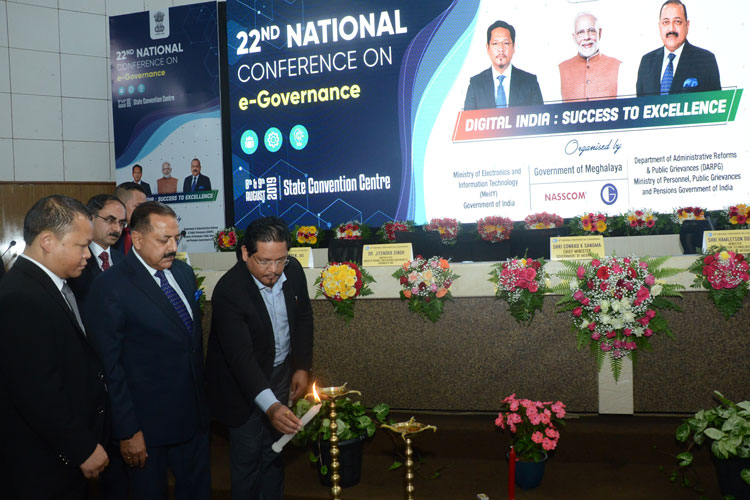 22nd National Conference on e-Governance held 08-08-2019