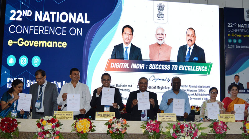 Historic Shillong Declaration agreed at the 22nd National Conference on E-Governance 09-08-2019