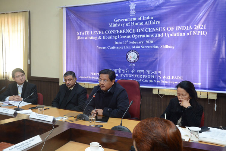 State Level Conference on Census of India 2021 10-02-2020