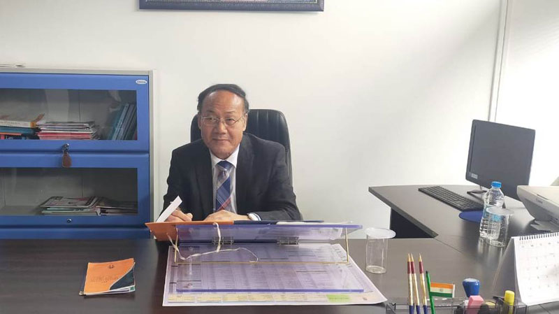 Justice T Vaiphei assumes charge as Chairperson of MHRC 10-02-2020