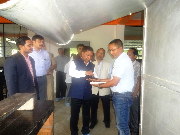 Chief Minister visits the Tea Factory at Tea Development Centre, Umsning