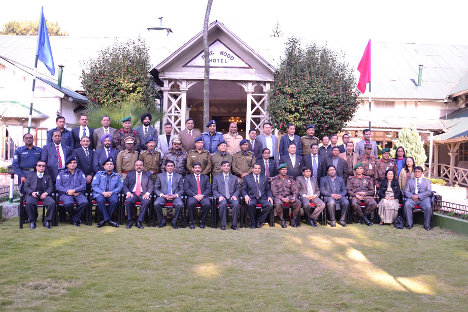 Group photo of the Delegates attending the Bilateral Conference