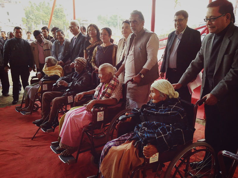 Launching of Rashtriya Vayoshri Yojana Scheme for Senior Citizens 12-12-2017