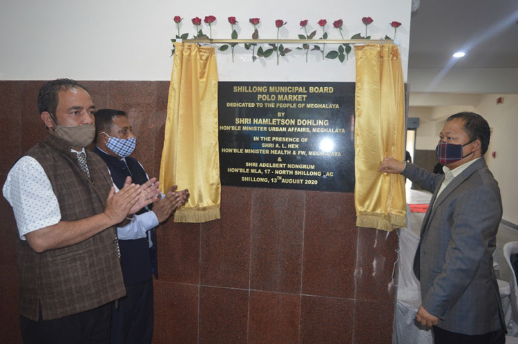 SMB Market Complex at Polo inaugurated 13-08-2020
