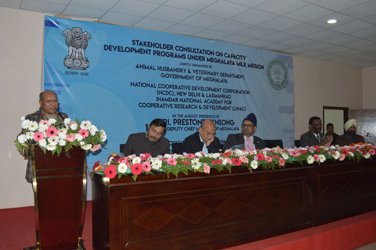 Stakeholder Consultation on Capacity Building Programme under Milk Mission Held 14-02-2020