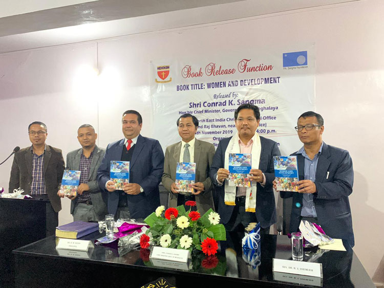 Chief Minister releases book on Women and Development 14-11-2019
