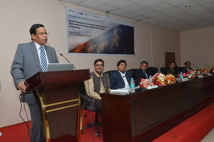 Workshop on Grid Connected Rooftop Program organized in Shillong 15-05-2018