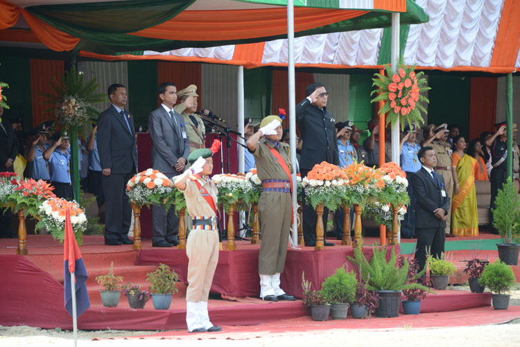 Meghalaya celebrates 71st Independence Day 15-08-2017