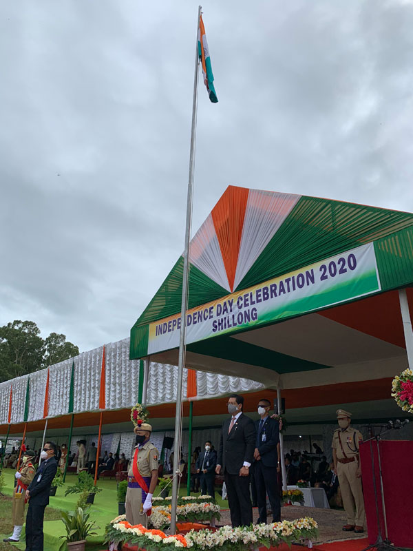 74th Independence Day Celebrated 15-08-2020