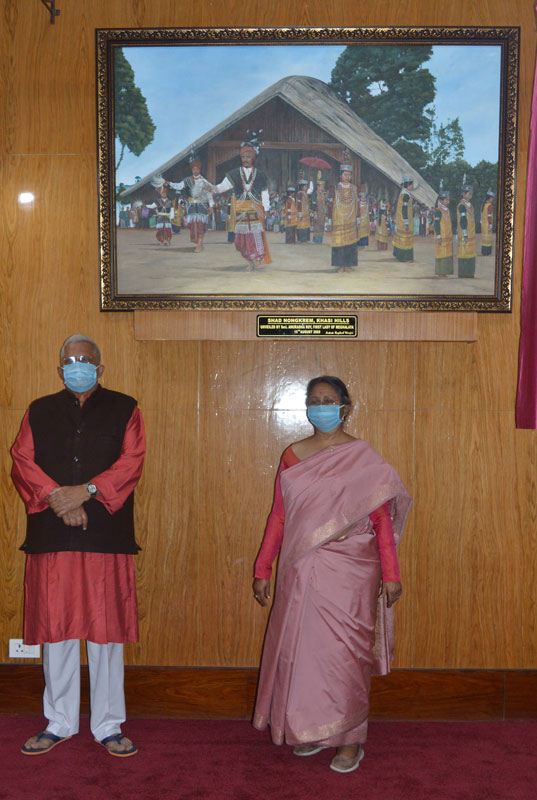 Portraits unveiled at Raj Bhavan 15-08-2020