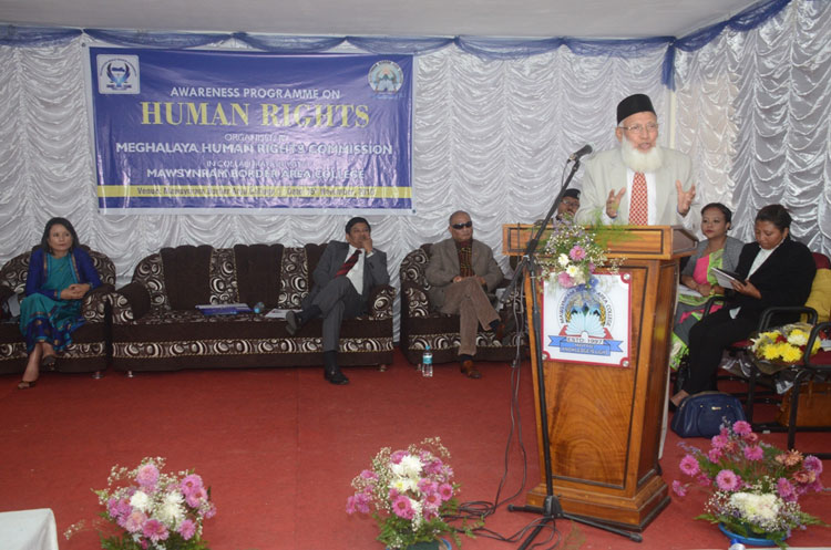 Awareness Programme on Human Rights at Mawsynram 15-11-2018