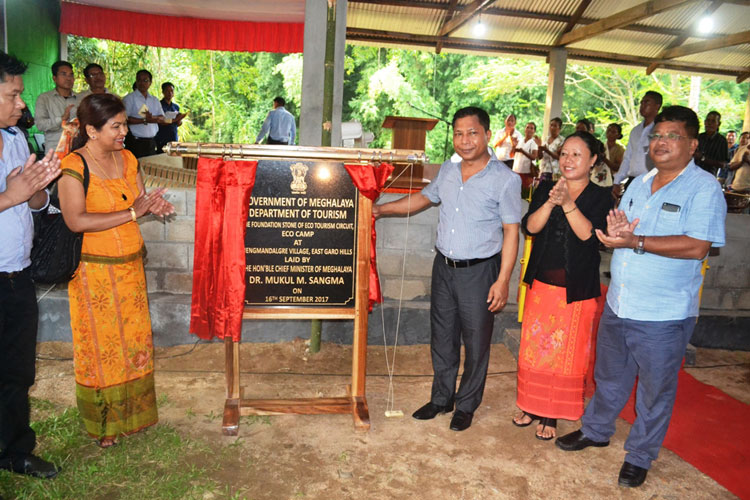 CM lays base for eco-tourism resort at Nengmandalgre 16-09-2017