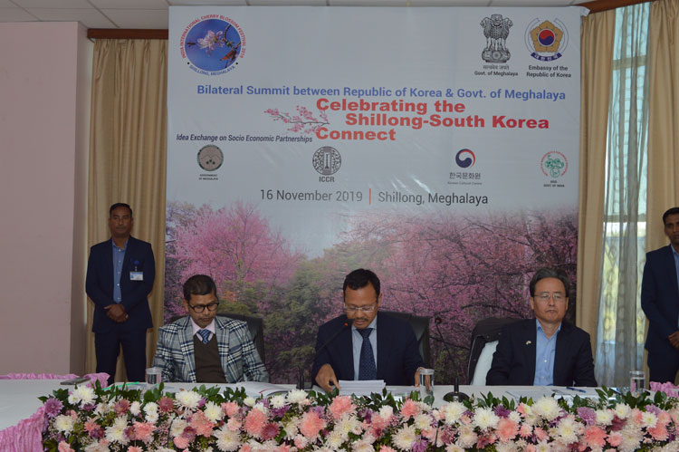 Bilateral Summit between the Republic of Korea and the Government of Meghalaya held 16-11-2019