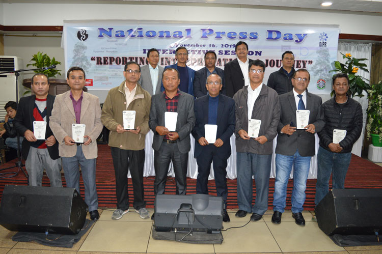 National Press Day Celebrated 16-11-2019