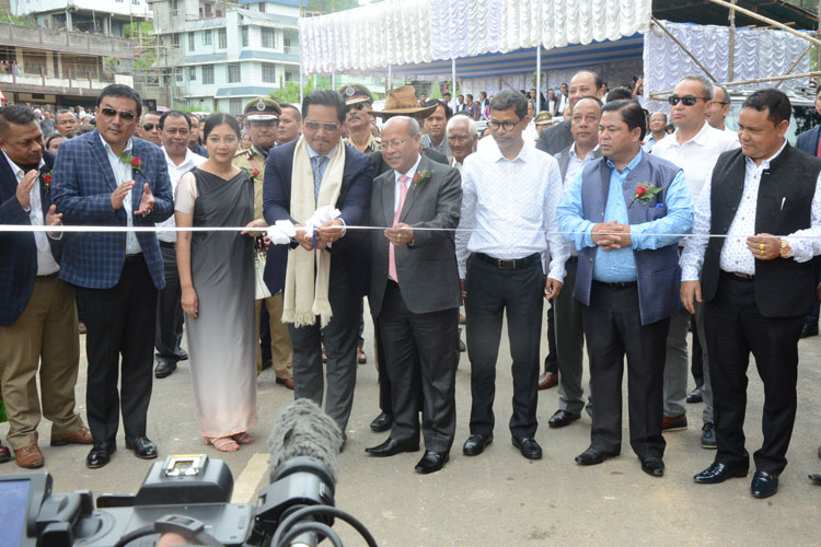 Mawlai Bypass and Mawkynroh Police Outpost inaugurated 17-08-2019