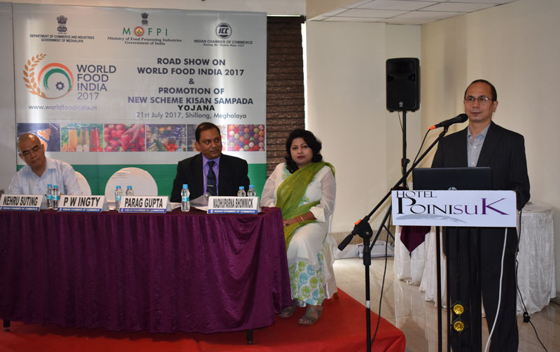 Road Show on World Food India 2017 and Promotion of New Scheme Kisan SAMPADA 21-07-2017