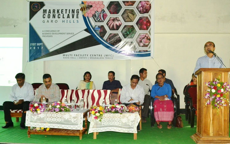Marketing conclave for GH farmers, entrepreneurs held at Ampati 21-09-2017