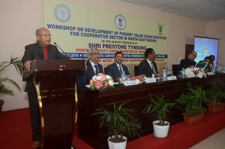 Workshop on Development of Piggery Value Chain for North Eastern Region 22-11-2018