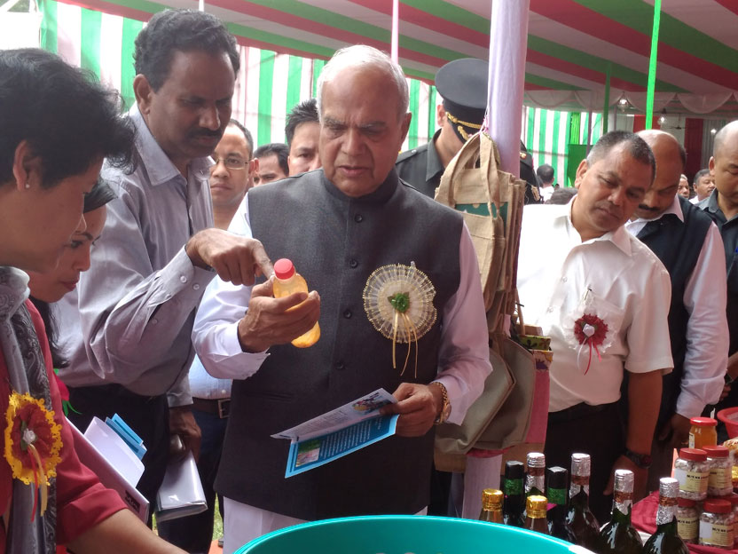 Meghalaya Governor, Shri. Banwarilal Purohit attending an interaction programme at Umroi
