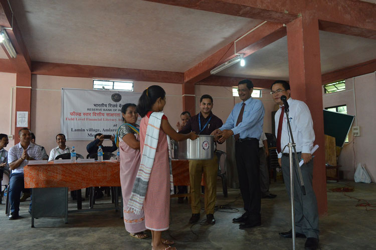 Field Level Financial Awareness Event by Reserve Bank of India, Shillong 23-08-2018