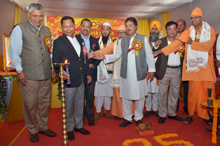 Chief Minister attends Silver Jubilee celebration of Central Puja Committee 23-09-2017