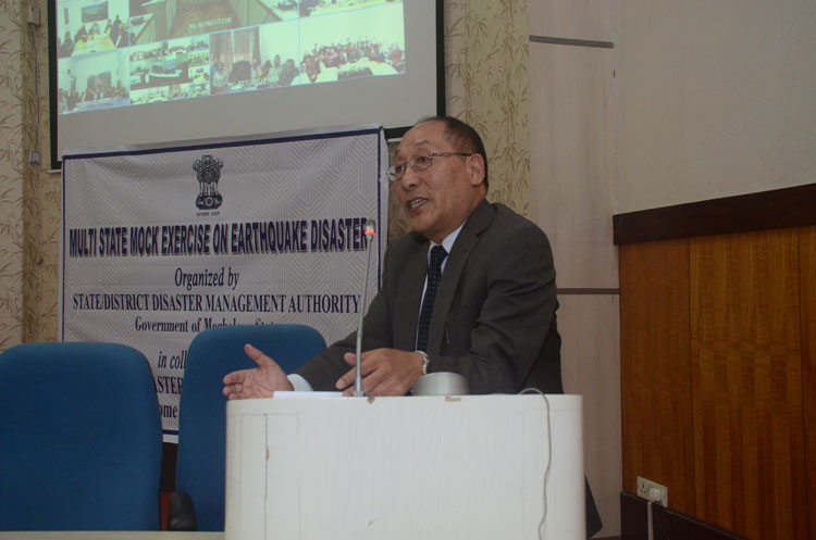 Orientation and Co-ordination Conference on Multi State Mock Exercise on Earthquake Disaster 23-10-2018