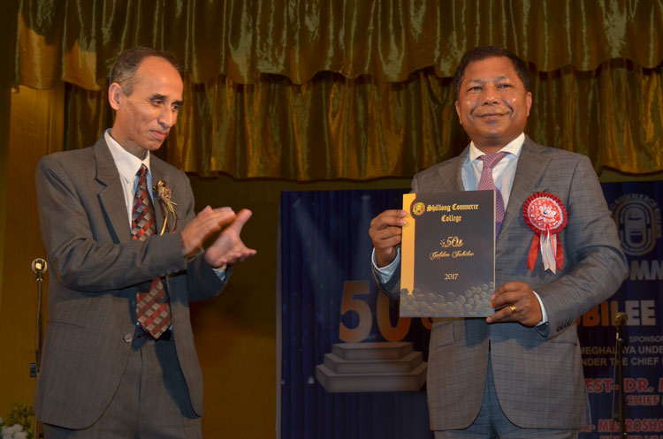Golden Jubilee of Shillong Commerce College concludes on 24th June 2017