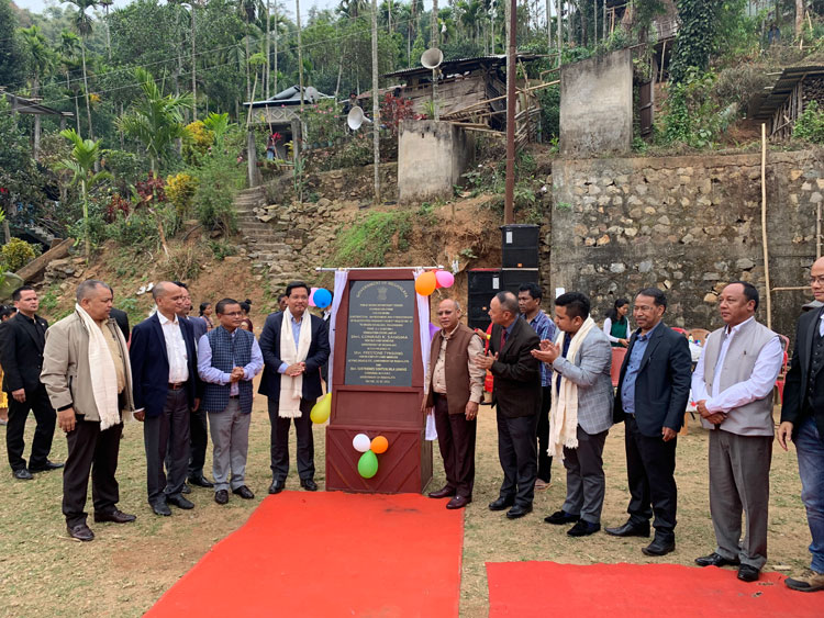 Chief Minister inaugurates 9th Mile to Umsen Road 25-02-2020