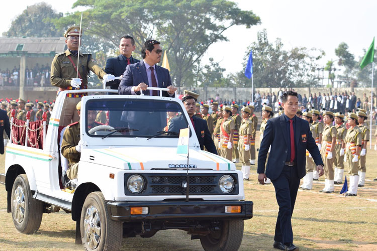 Republic Day, 2019 celebrated across the State 26-01-2019
