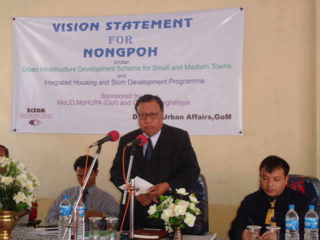 Vision statement for Nongpoh Town Development