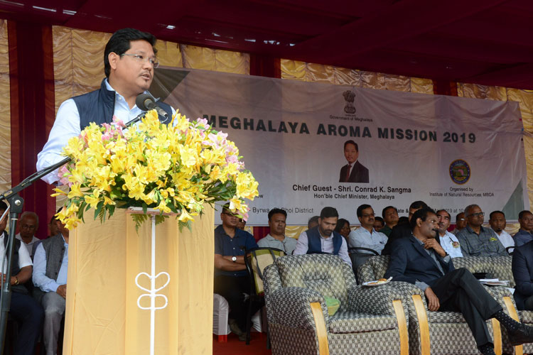 Chief Minister launches Aroma Mission 27-05-2019