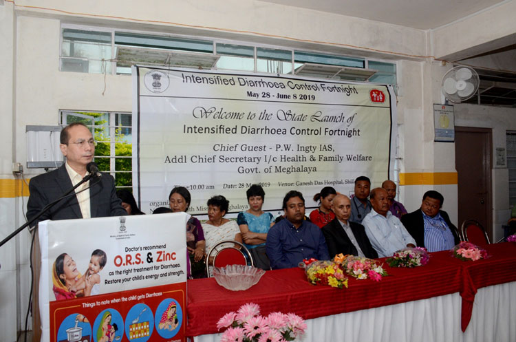 Intensified Diarrhoea Control Fortnight launched 28-05-2019