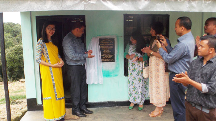 Inauguration of Community Smoke Fish Shed at Umladkhur, Amlarem on 28th June 2017
