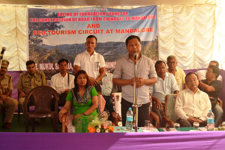 Eco-tourism camp to come up at Mandalgre, base laid for road construction 28-08-2017
