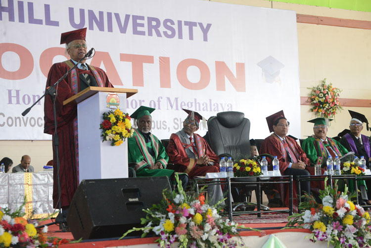 XXV Convocation of North Eastern Hill University 28-11-2018