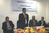 Meghalaya CS Mr W M S Pariat speaking while inaugurating the State Level Workshop on e-Procurement System