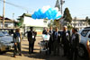 Meghalaya Dy CM, Mr. Rowell Lyngdoh releasing the baloons as a mark to inaugurate  the Silver Jubilee celebration of Mawphor