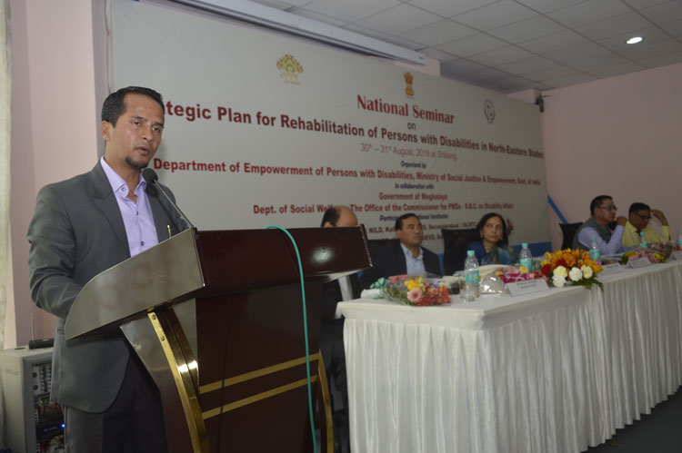 National Seminar on Strategic Plan for Rehabilitation of Persons with Disabilities held 30-08-2018