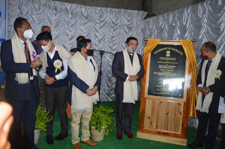 Foundation stone for Greater Laitkor Water Supply Scheme laid 31-08-2020