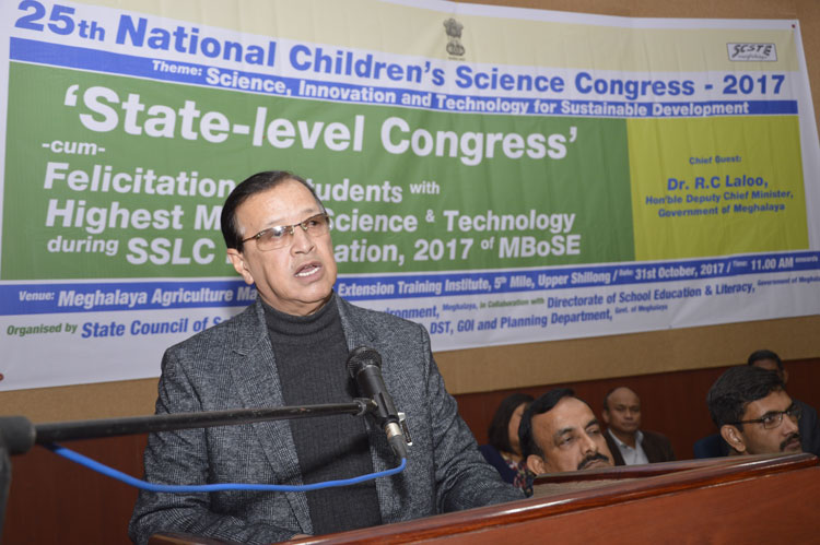 State Level Science Congress begins 31-10-2017